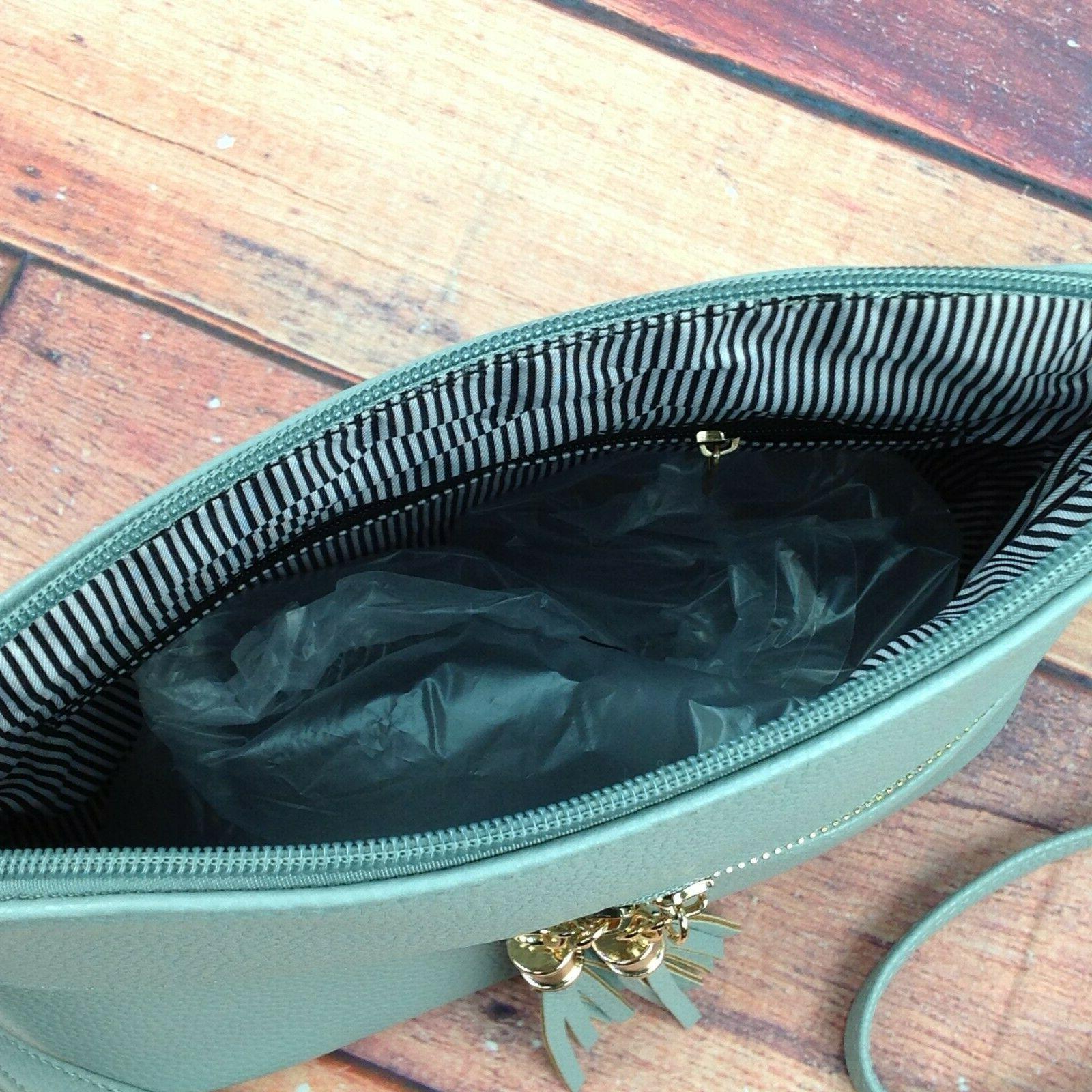 Deluxity Bella Tassel Zipper Pocket