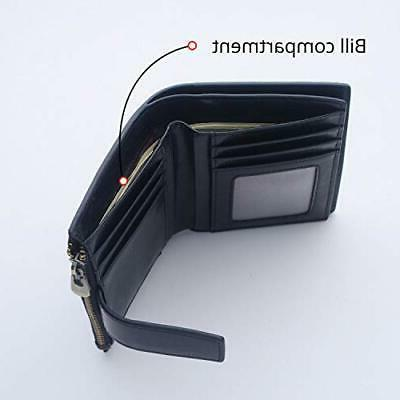 Bifold Wallet Gift For Card With ID Window