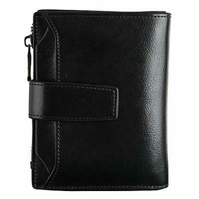 bifold zipper pocket wallet gift for women
