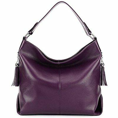 BIG SALE-AINIMOER Womens Leather Vintage Shoulder Bag Ladies