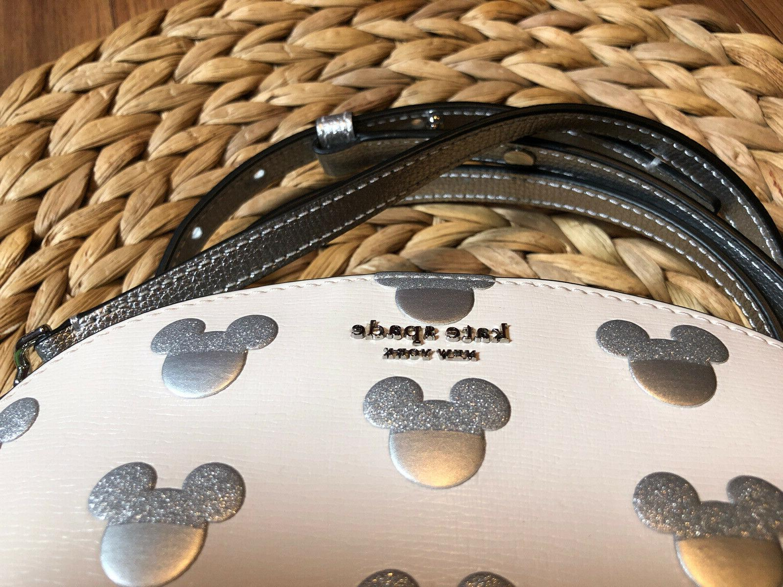 BRAND Kate Spade New Mouse Ear Silver Purse