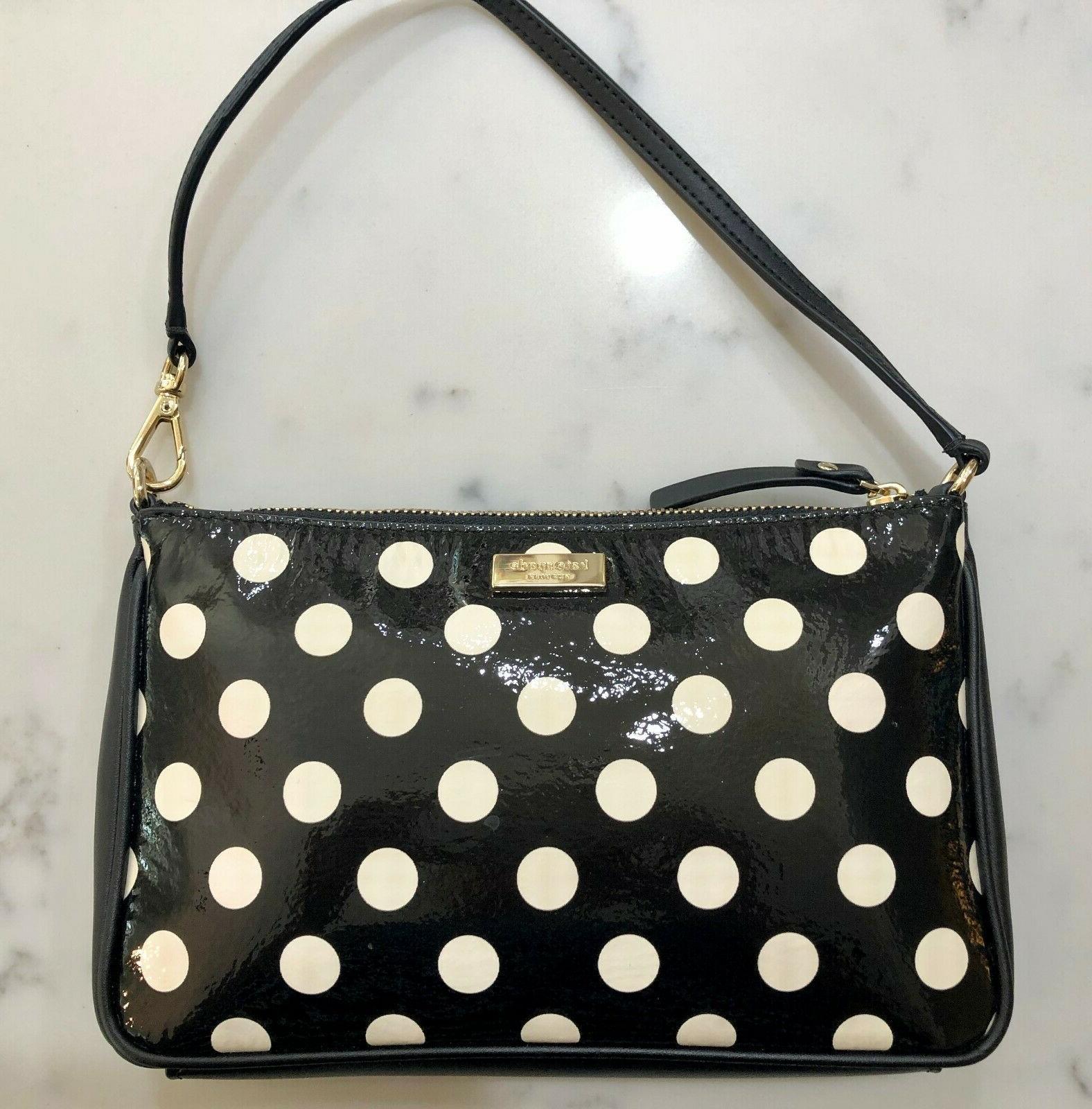 carlisle street serenade polka dot mini purse