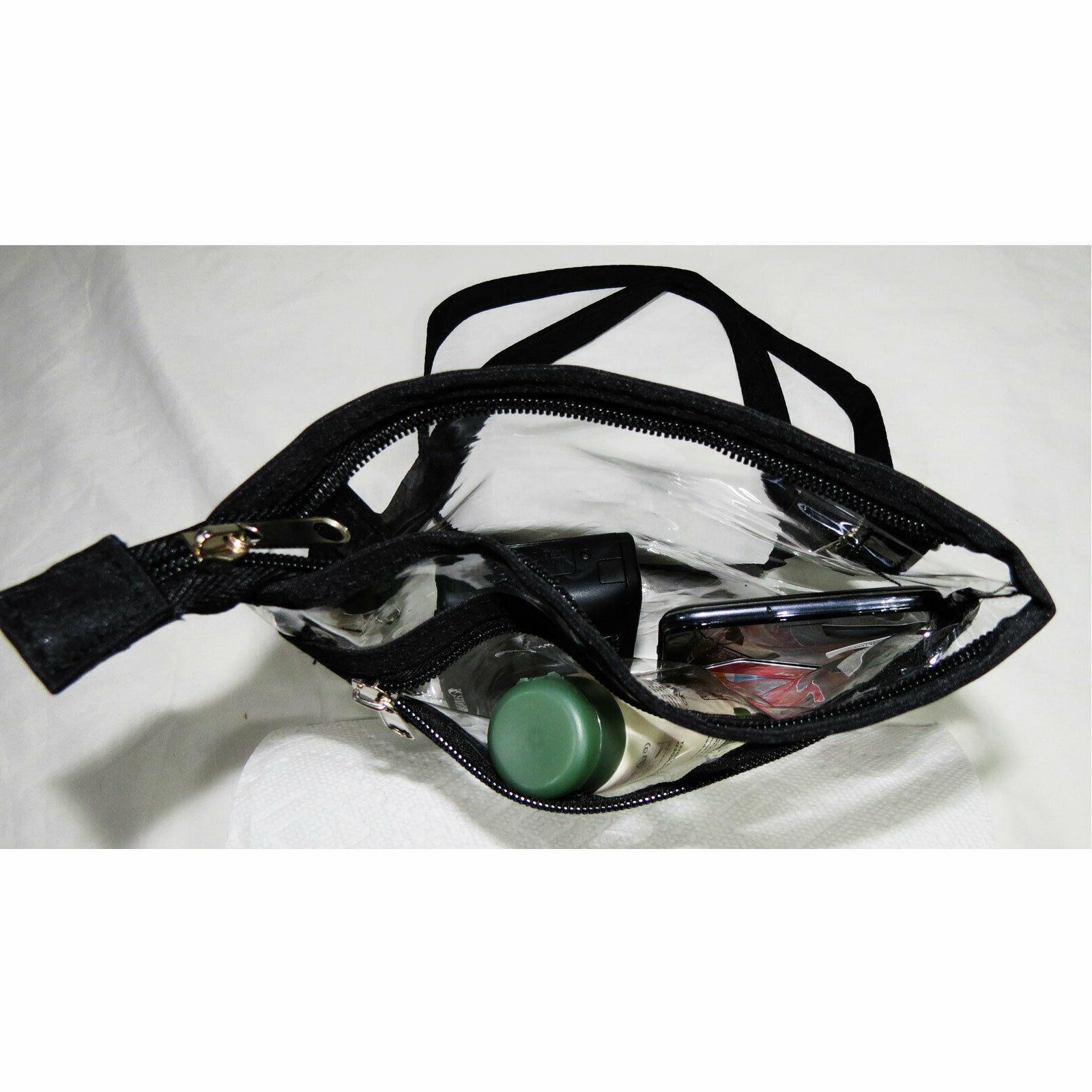 2 Shoulder Bag Approved NFL Transparent Purse