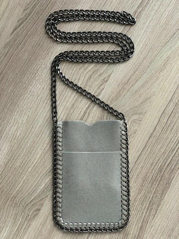 Crossbody Bag Chain Trim Shaggy Holder Falabella