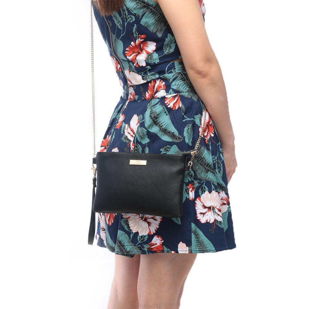 Aitbags Fashion Phone Purse Leather Crossbody Bag Chain Strap