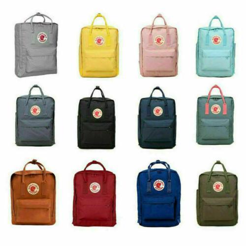 Fjallraven Kanken Backpack Handbag Outdoor Sport Travel Bag