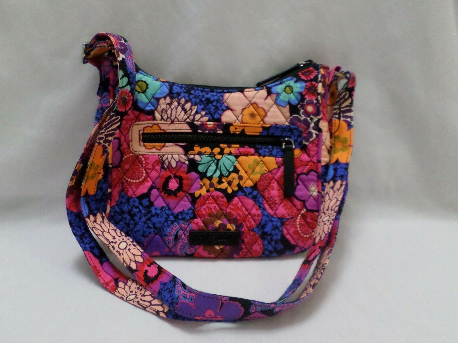 floral fiesta mini andi crossbody purse new