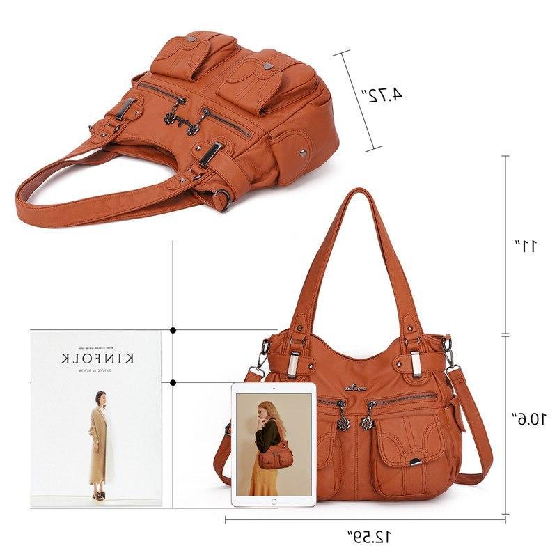 <font><b>Angel</b></font> <font><b>Kiss</b></font> bags for women 2019 <font><b>purses</b></font> and handbags zipper pocket soft casual tote 5739-1