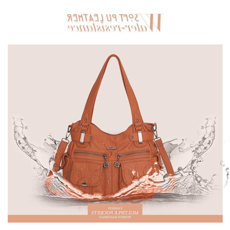 <font><b>Angel</b></font> <font><b>Kiss</b></font> crossbody for women 2019 <font><b>purses</b></font> handbags zipper pocket soft tote 5739-1