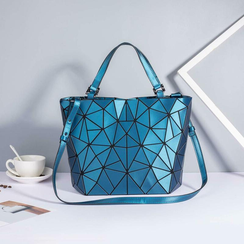 Geometric Handbags Holographic Bag