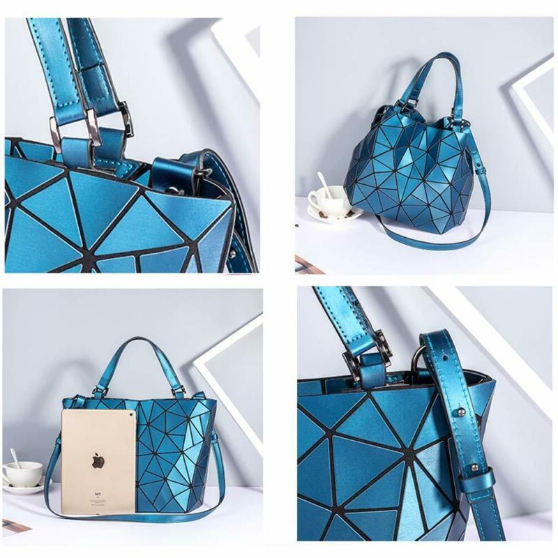 Geometric Purses Handbags Purse Bag Reflective