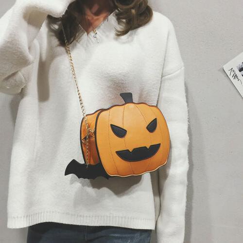 Girl Pumpkin Demon Casual Handbag