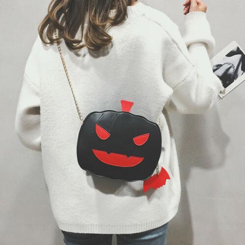 Girl Demon Shoulder Casual Purse Handbag