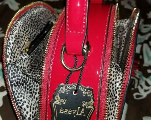Alyssa Red Shoulder Crossbody Bag Handbag NEW NWT