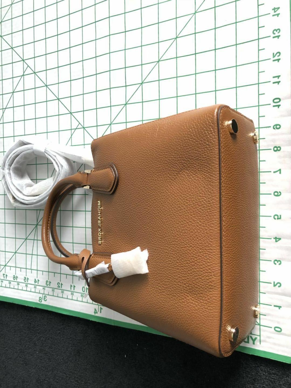 Michael Handbag Adele medium Mercer Messenger Leather