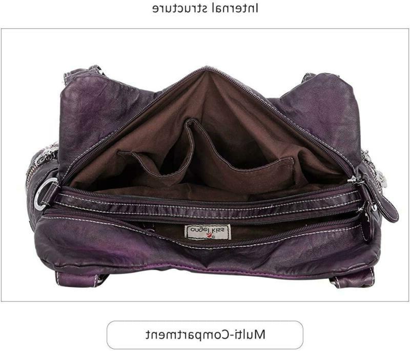 Handbag Hobo Women Roomy Multiple