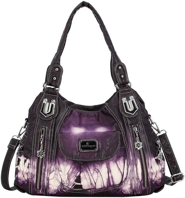 handbag hobo women handbag roomy multiple pockets