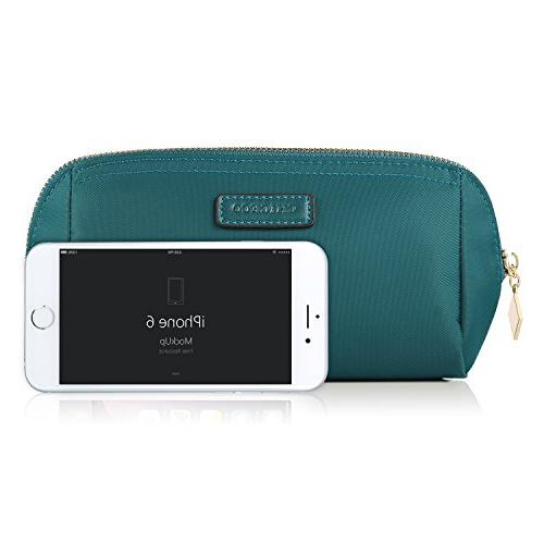 CHICECO Handy Cosmetic Pouch Clutch Makeup Turquoise