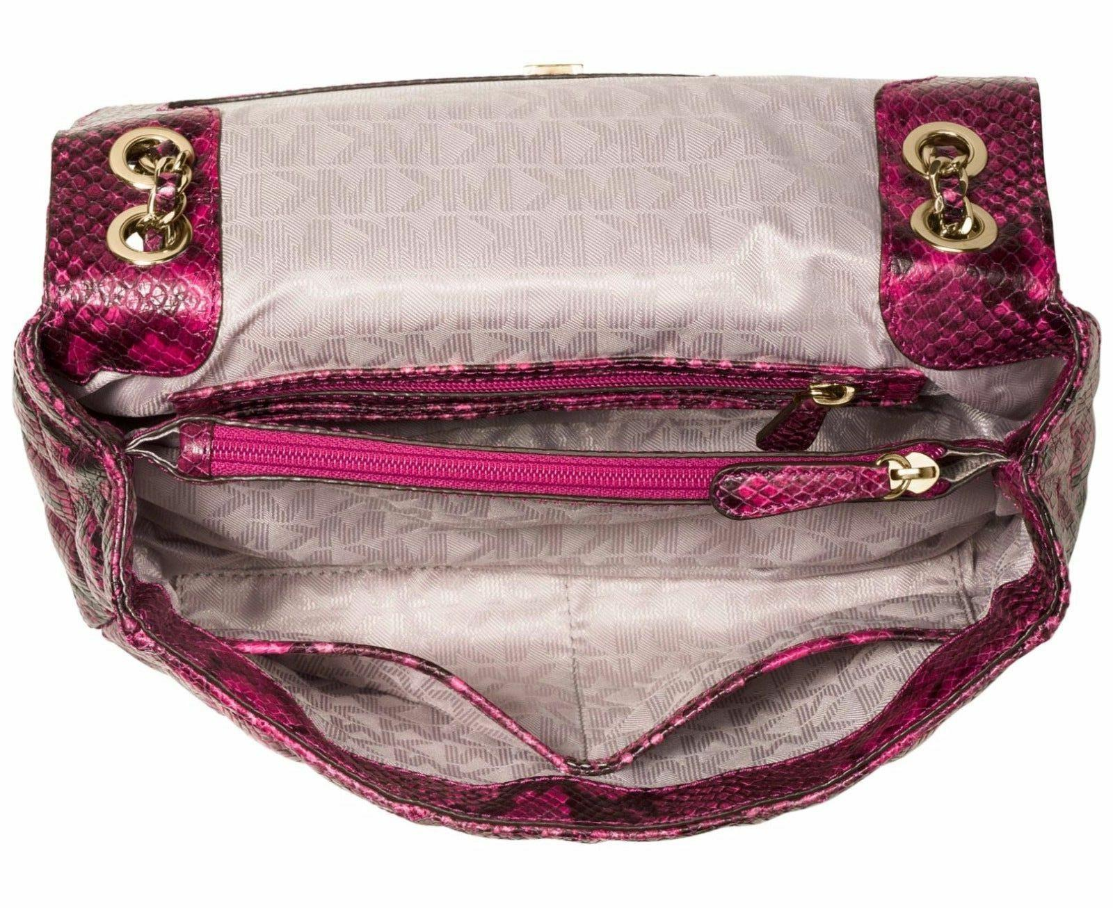 MICHAEL Kors L Quilted Leather Hobo Purse Pink New