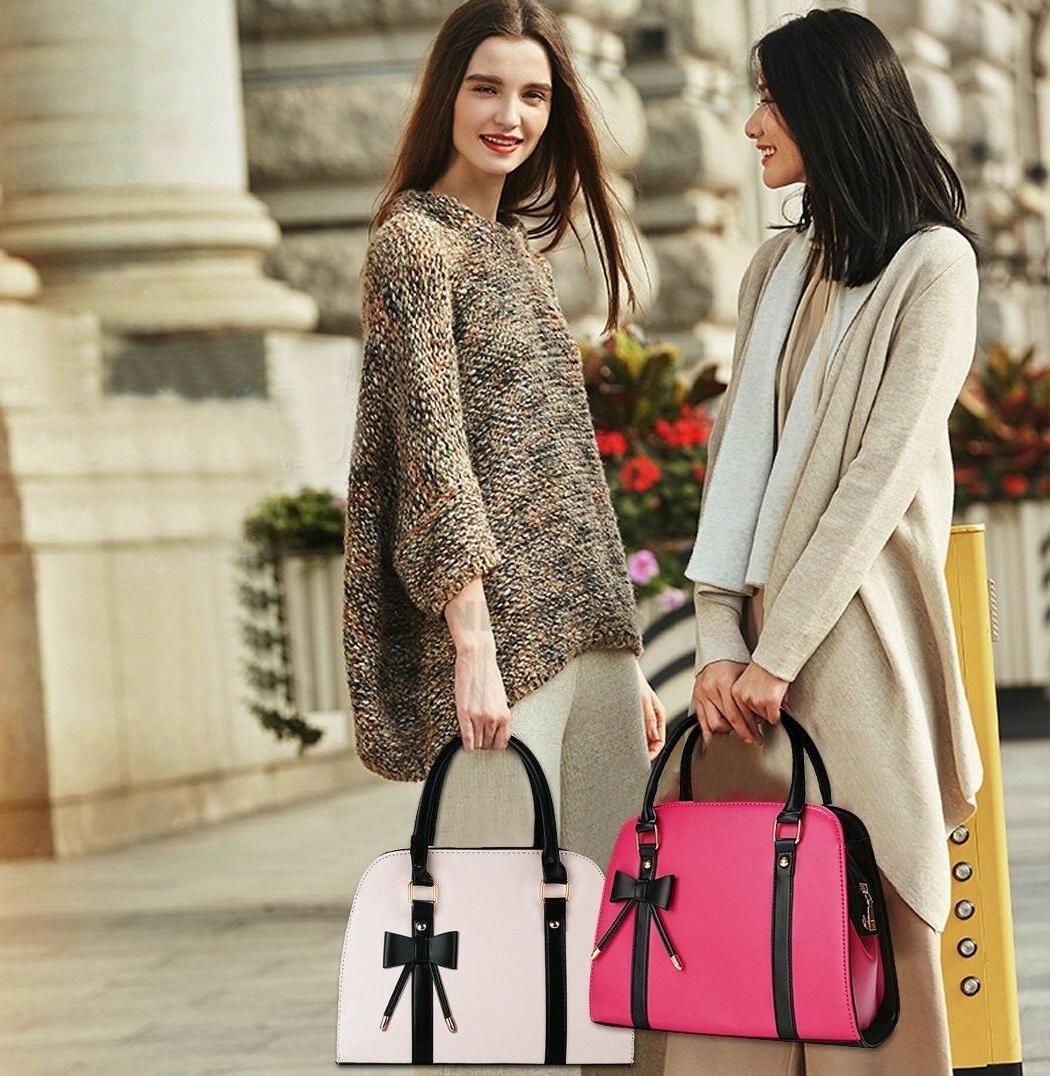 COOFIT Handbag Bow Shoulder Bag Purses and H