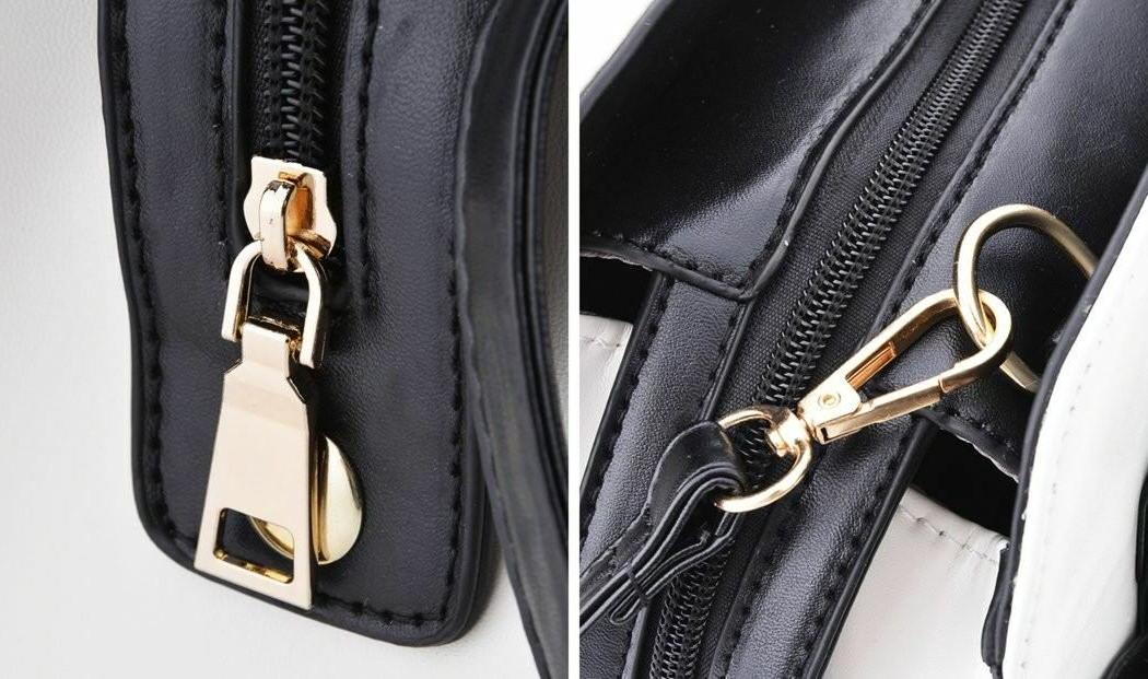 COOFIT Lady Handbag Bow Shoulder Purses H