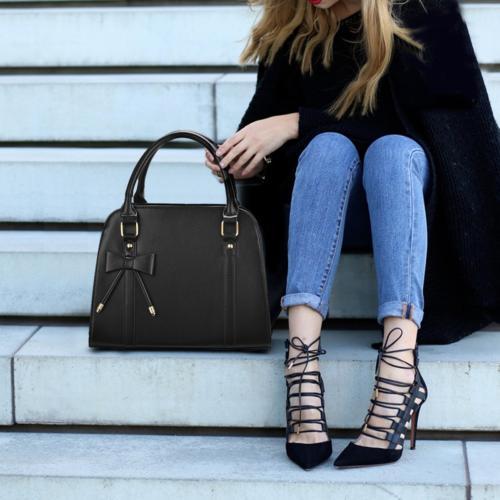 COOFIT Handbags Bow Top-Handle Bags Shoulder Bag
