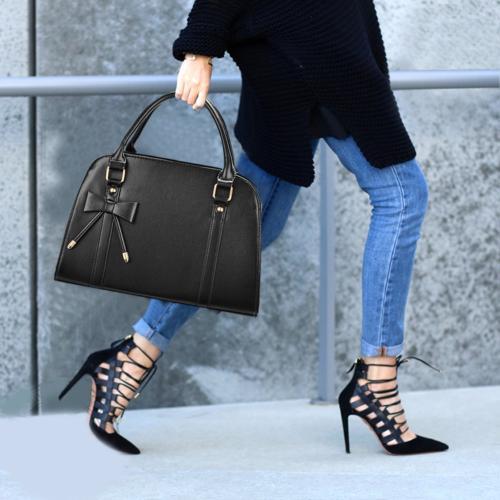 COOFIT Lady Handbags Little Bow Leisure Top-Handle Bags Bag