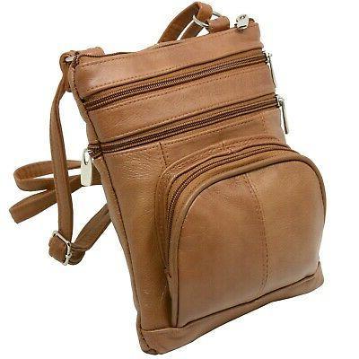 Leather Shoulder Wallet Pockets