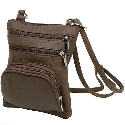 leather shoulder bag handbag purse cross body