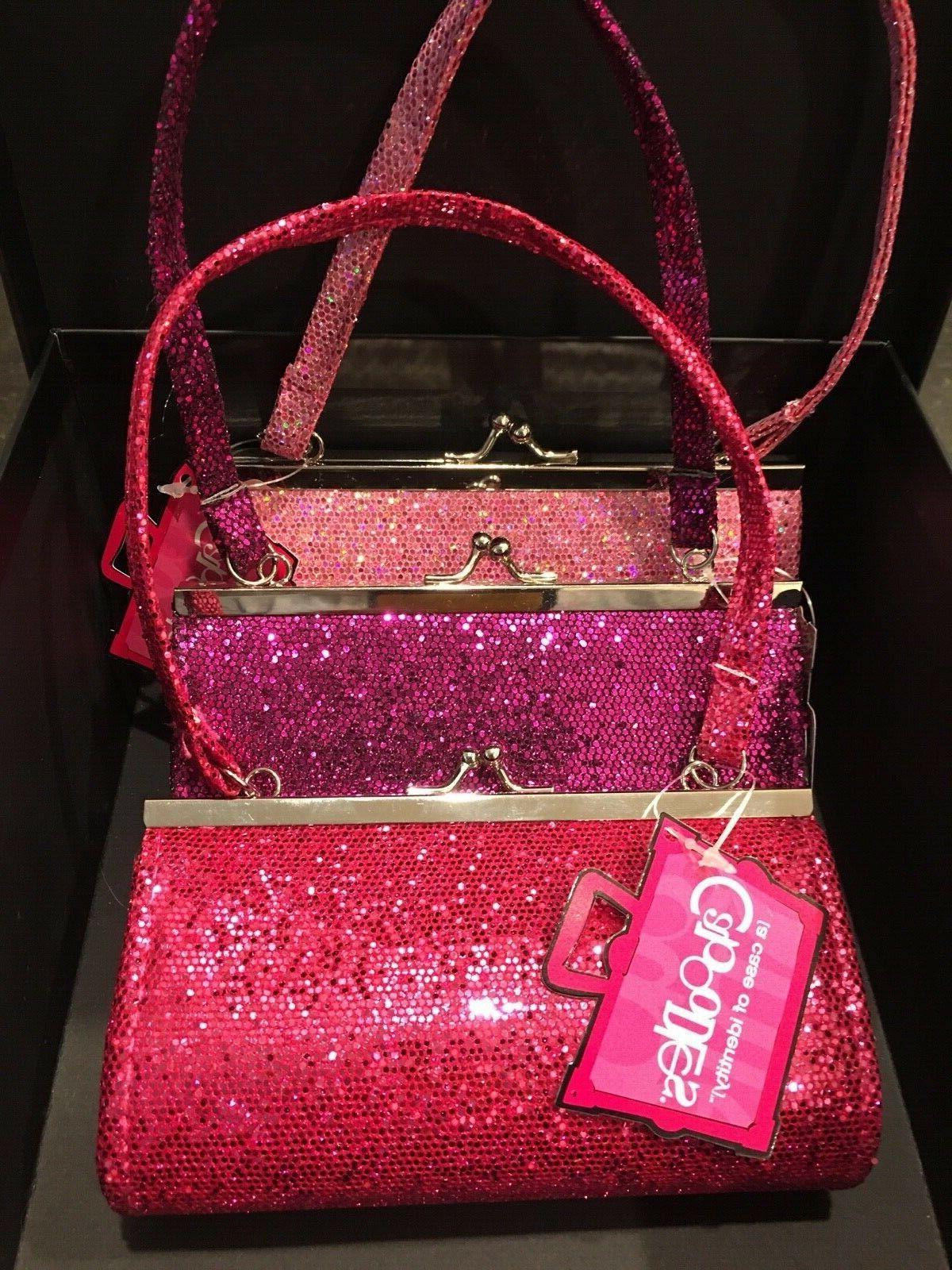 little girls glitter purses new set of