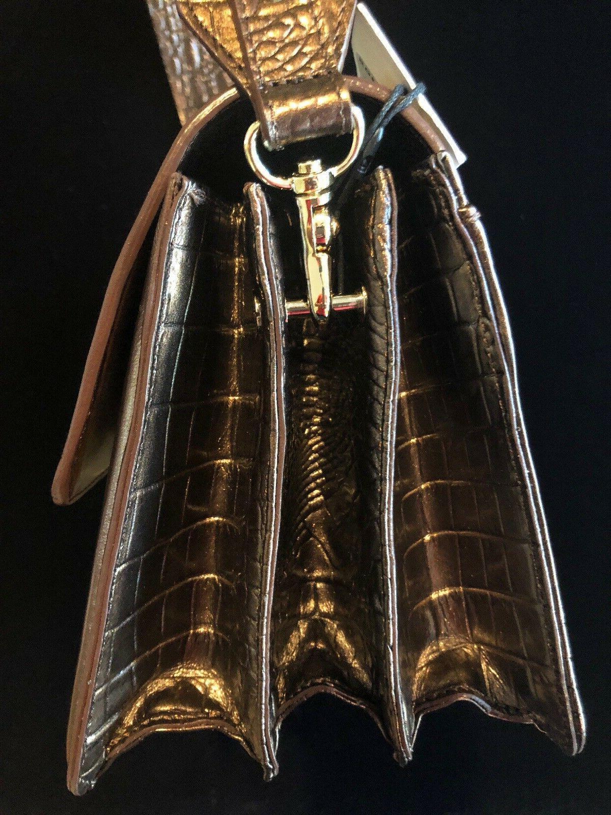 Brahmin Maria Honey Genuine Leather Purse New w/ Registration