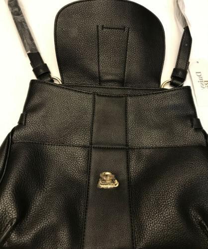 Daisy Leather Black Purse, 👜B71