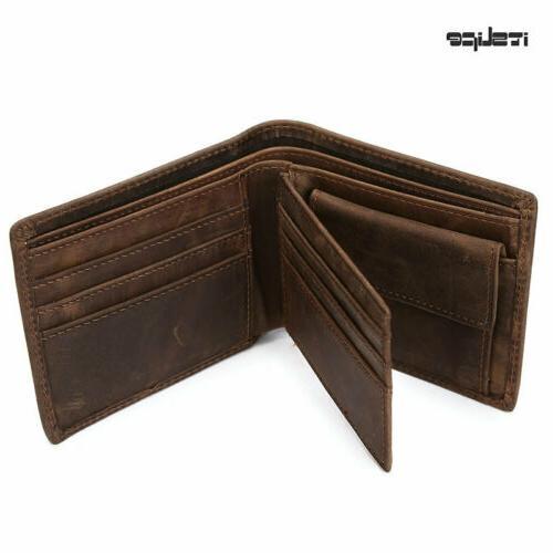 Men's Wallet Vintage Coin Card Holder