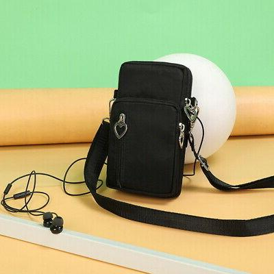 US Cross-Body Shoulder Strap Cell Pouch Wallet OCCA