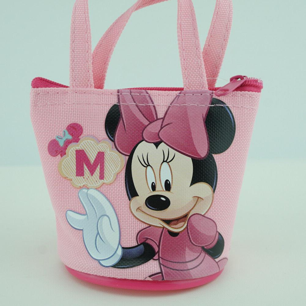 Minnie Mouse Coin Wallet for Girls Pink