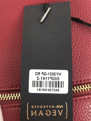 Deluxity MKII Tassel Travel Bag Red