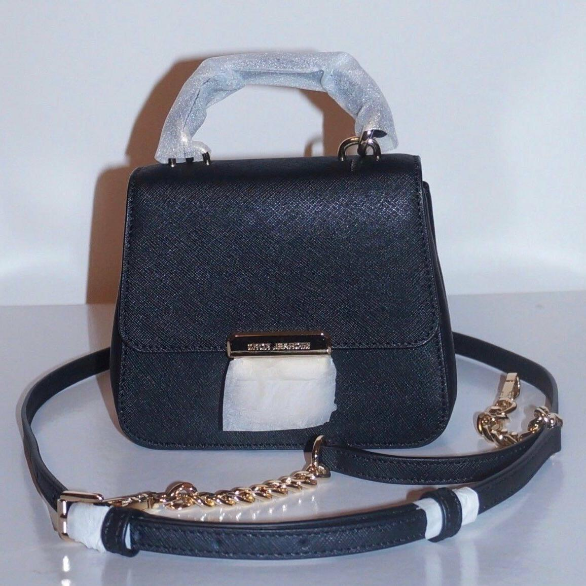 NEW Michael Bridgette Leather Crossbody Purse