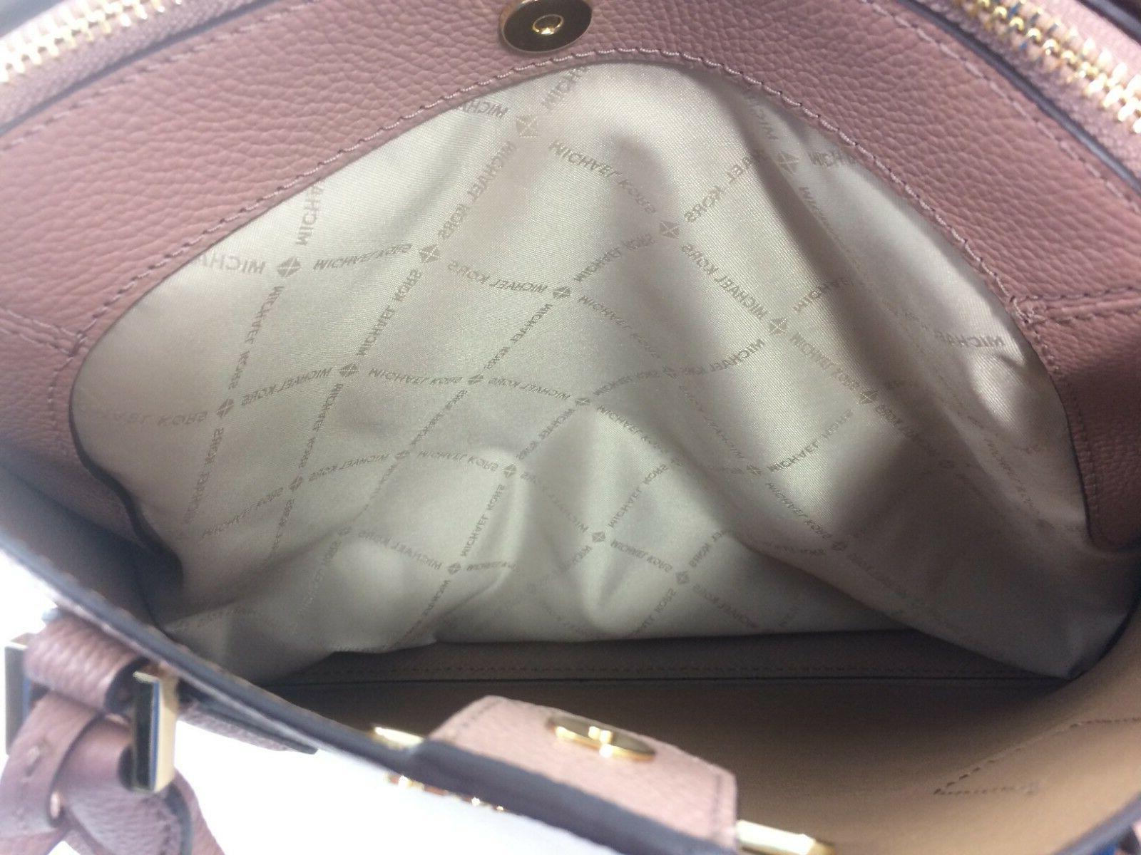 New Authentic Michael Adele Large Handbag Luggage