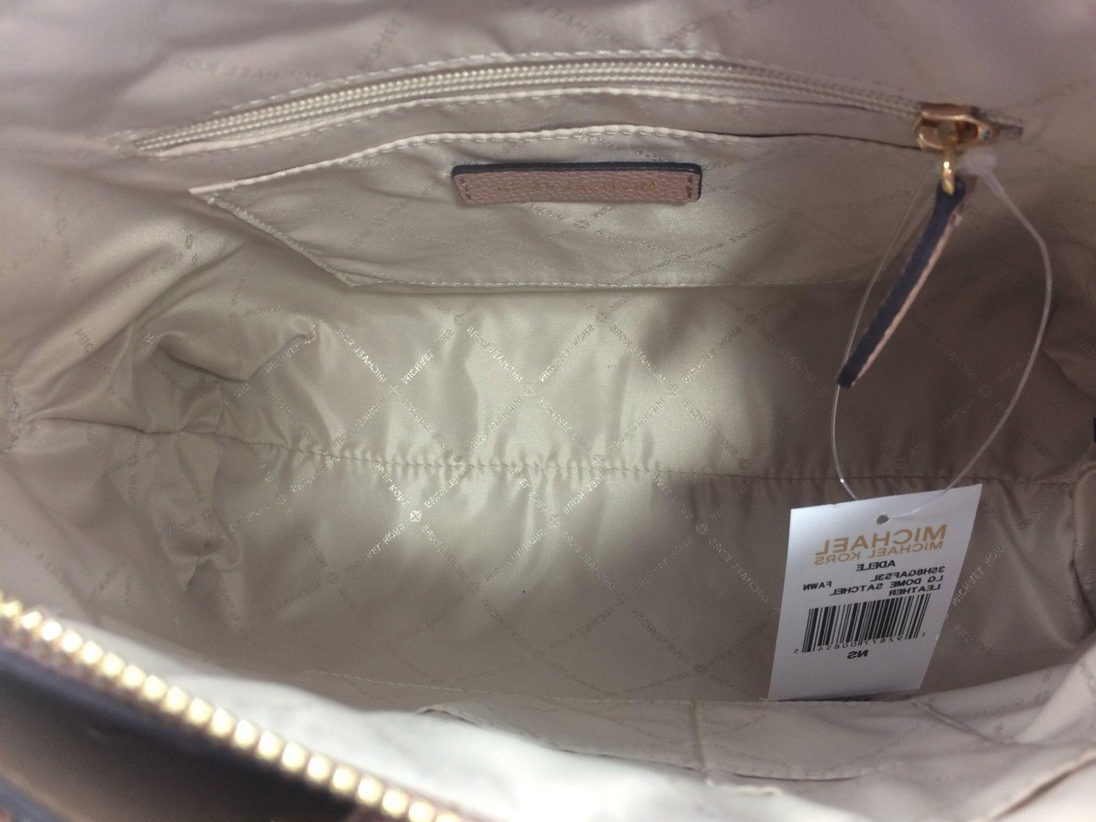 New Authentic Michael Kors Adele Satchel Handbag