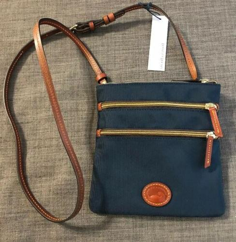 NEW Dooney Navy Nylon Crossbody