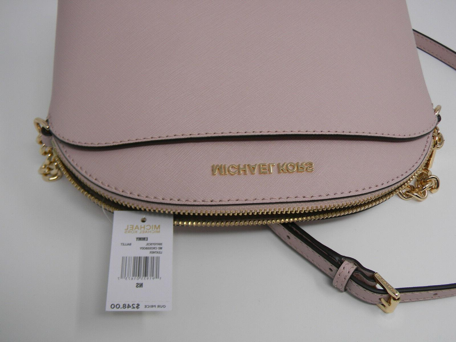 New Michael Ballet Leather Cindy Crossbody