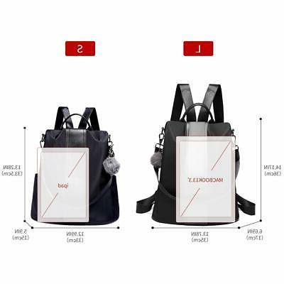 Waterproof Backpack Anti-theft Rucksack Lightweight Slash Proof