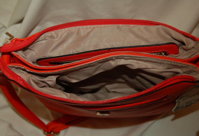 Alyssa Orange And Purse Bag