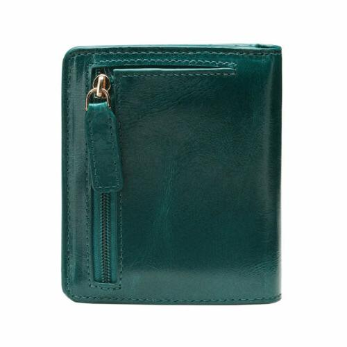 New Real Mini Wallet Cowhide Bifold Purse
