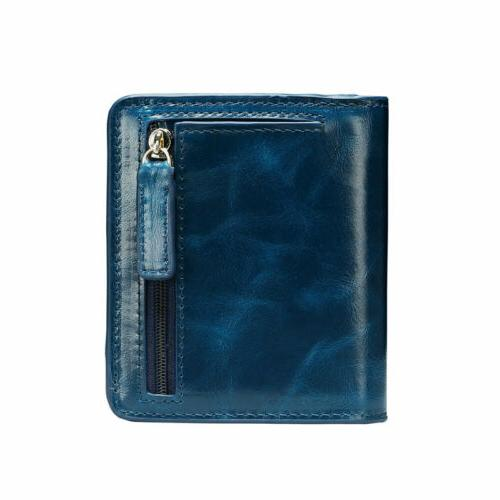 New Real Bifold Holder Purse