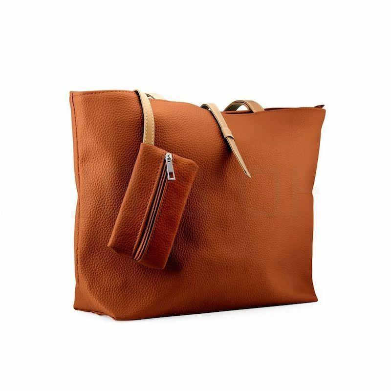 New Womens Faux Leather Fashion Messenger Lady Shoulder
