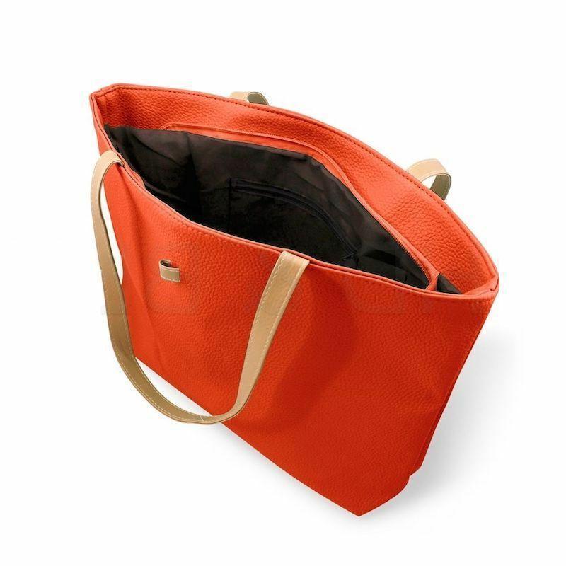 New Womens Faux Leather Fashion Handbag Shoulder Bag