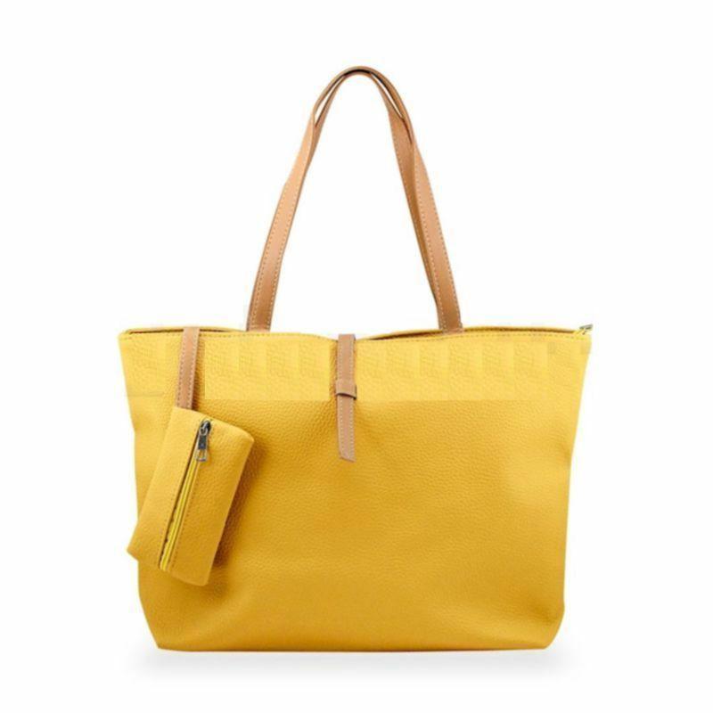 New Womens Faux Fashion Messenger Handbag Shoulder Bag Totes Purse