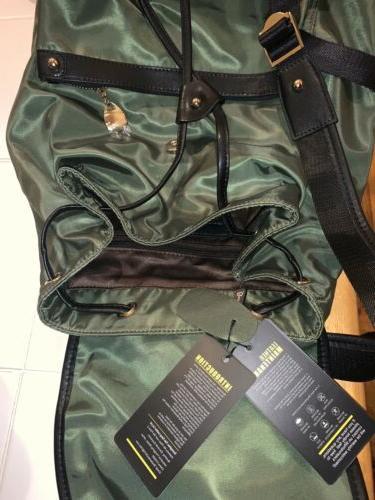 NWT Bostanten Womens Weight Backpack Green Nylon