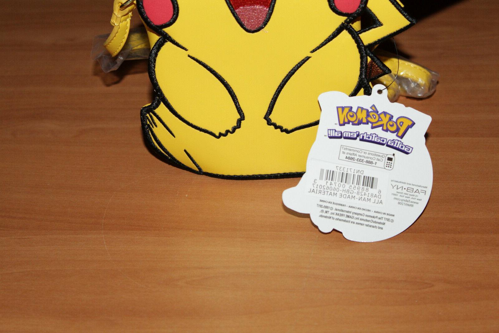 Pokémon Faux Crossbody Purse